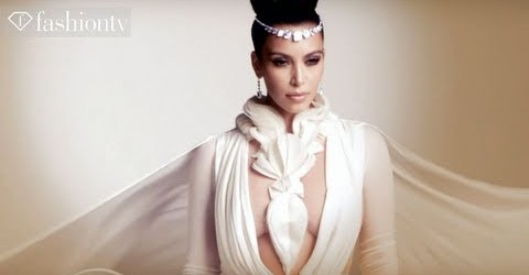 Kim Kardashian is UNVEILED in Stephane Rolland Couture