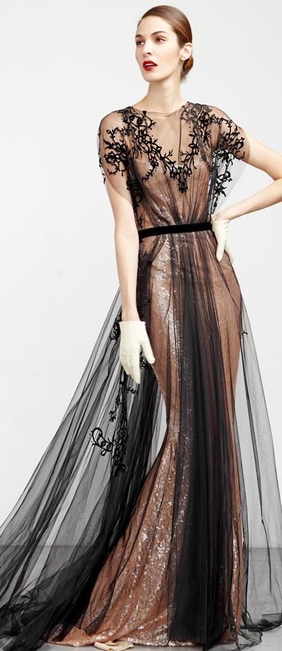 Abed Mahfouz Glamour Dress ✤