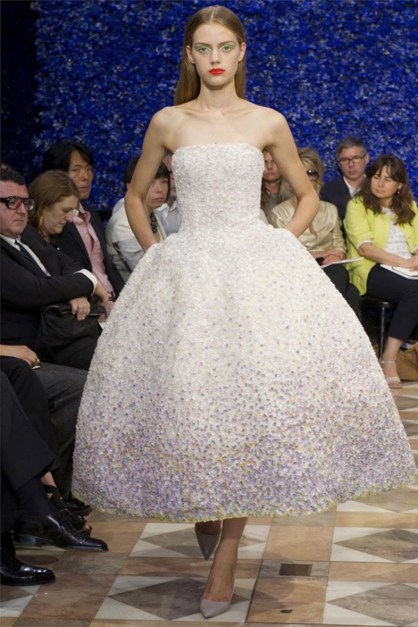 Haute couture dior autumn winter 2012 2013 collection for Haute couture houses