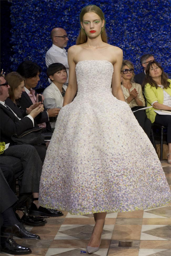 Haute couture dior autumn winter 2012 2013 collection for 50 haute couture