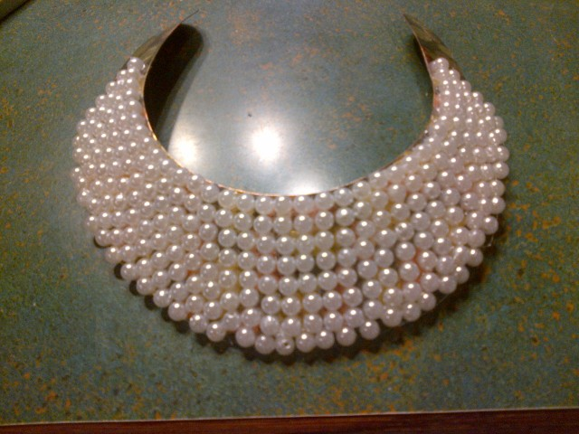 Pearl Collar Necklace (14)