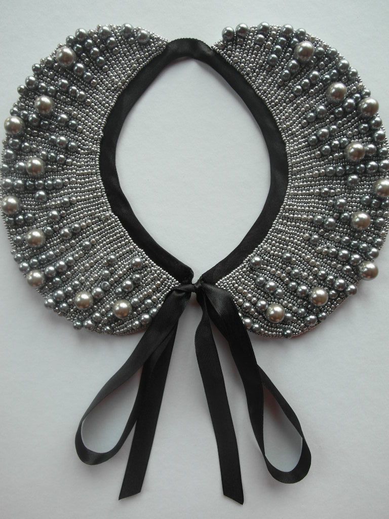 Pearl Collar Necklace (18)