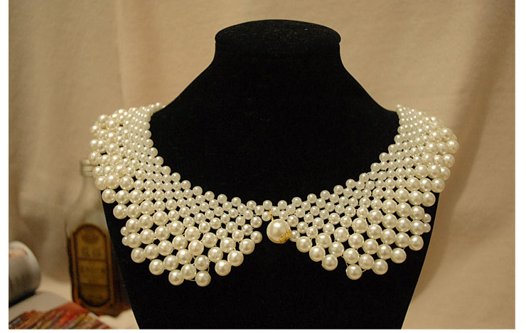 Pearl Collar Necklace (25)