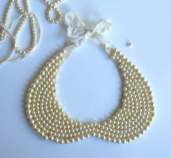 Pearl Collar Necklace (8)
