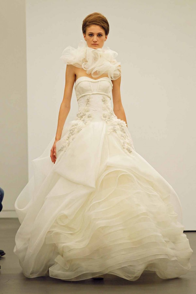Vera Wang 2013 Beautiful Fall Bridal Collection