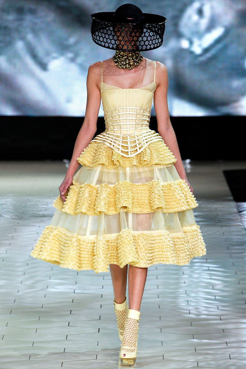 Alexander mcqueen spring 2013 for How to be a fashion designer at 14