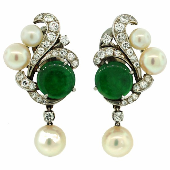 crystal boutique en happiness beautiful drop earrings