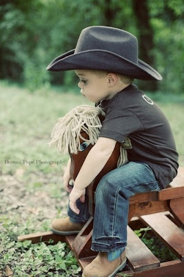 My little Boy is a Lovely Cowboy