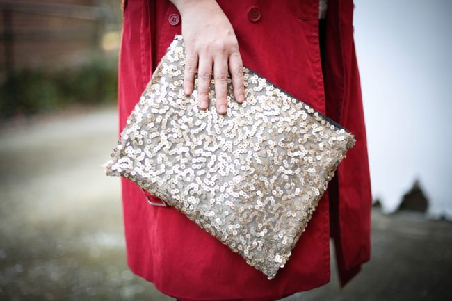 SEQUIN DIY HANDBAG