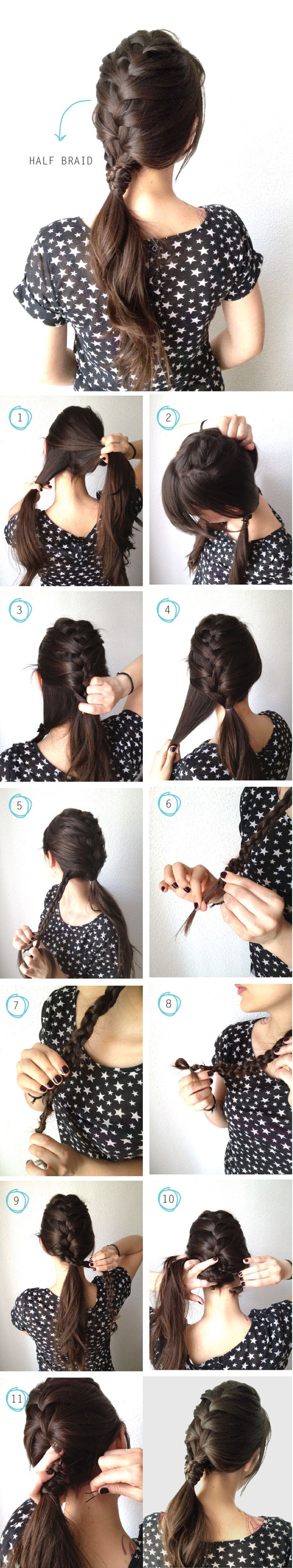 BRAIDED HIAIRSTYLE IDEAS