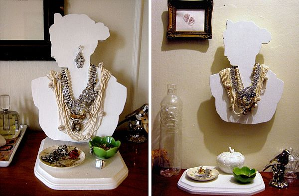 DIY: Artistic and Practical Jewelry Bust