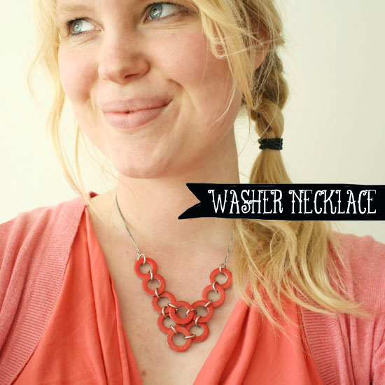 WASHER NECKLACE – Do it Yourself