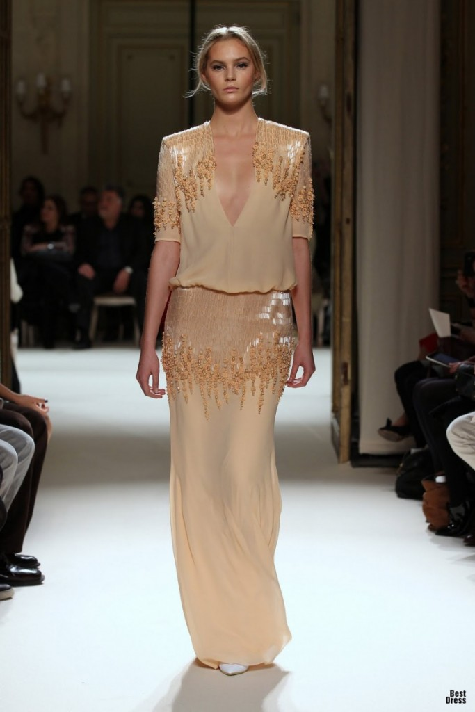 Georges hobeika houte couture spring summer 2012 for How to become a haute couture designer