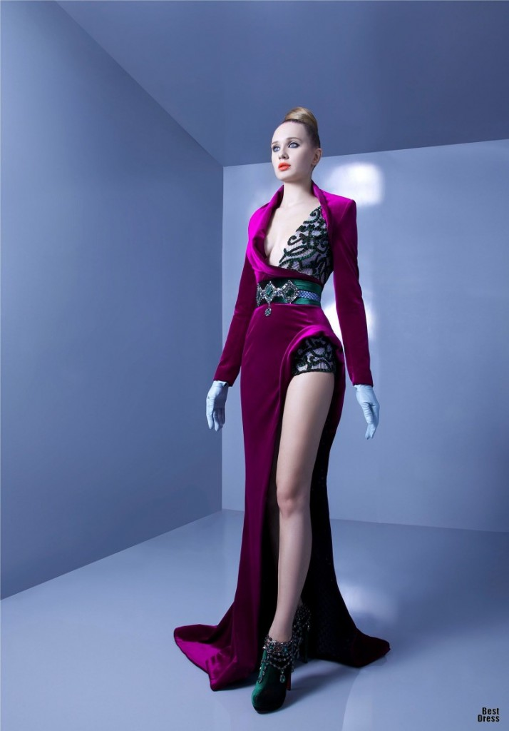 Nicolas jebran houte couture spring summer 2013 for High fashion couture dresses