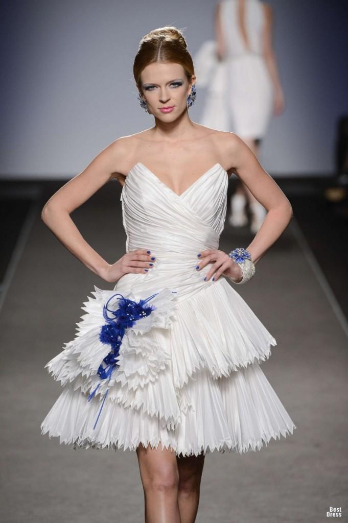 وأرقى التصميماتفساتين زفاف رامى سلمون ... شياكة تفوق الوصففساتين طوني