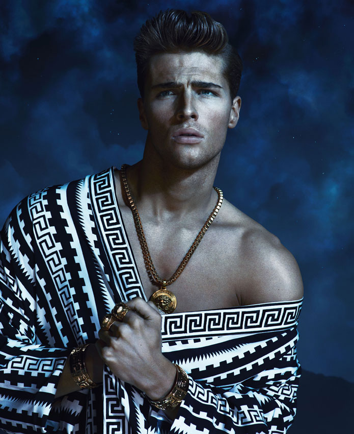Versace spring summer 2013 advertising caign