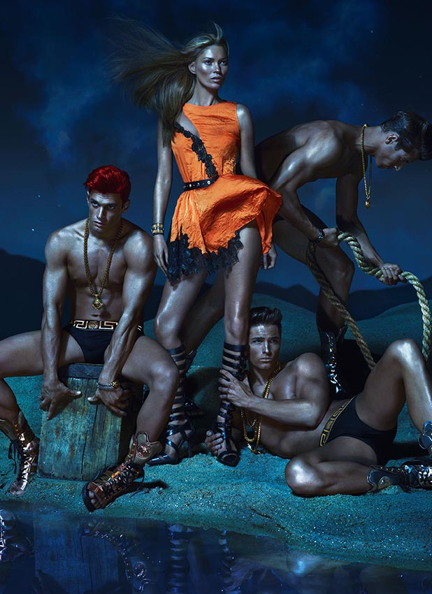 Versace Spring Summer 2013 Advertising Campaign