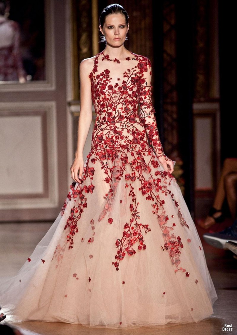 Zuhair murad houte couture 2011 2012 for To have and to haute dress