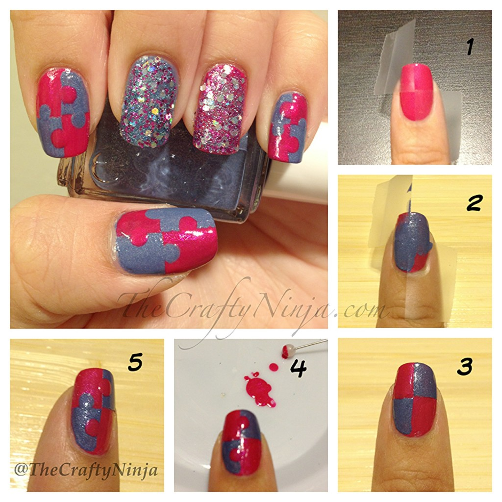 diy-puzzle-nails