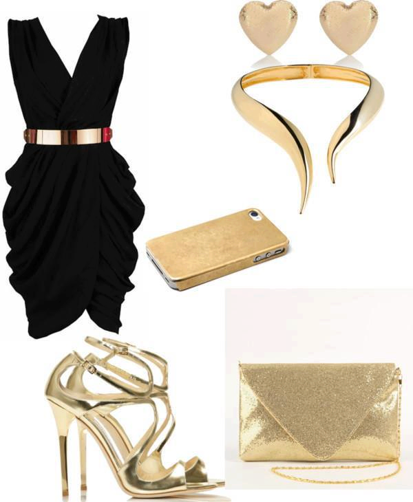 stunning elegant night out outfit 11