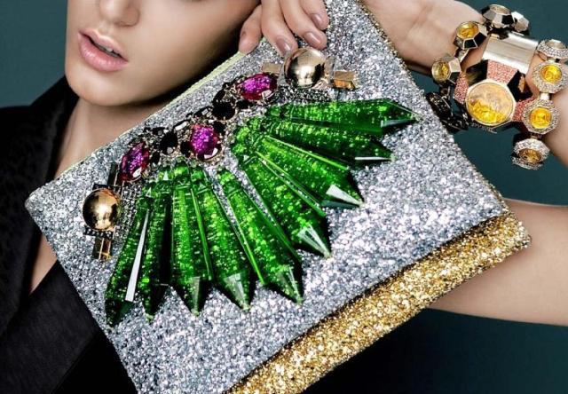 Crystal Clutch Handbag – DIY