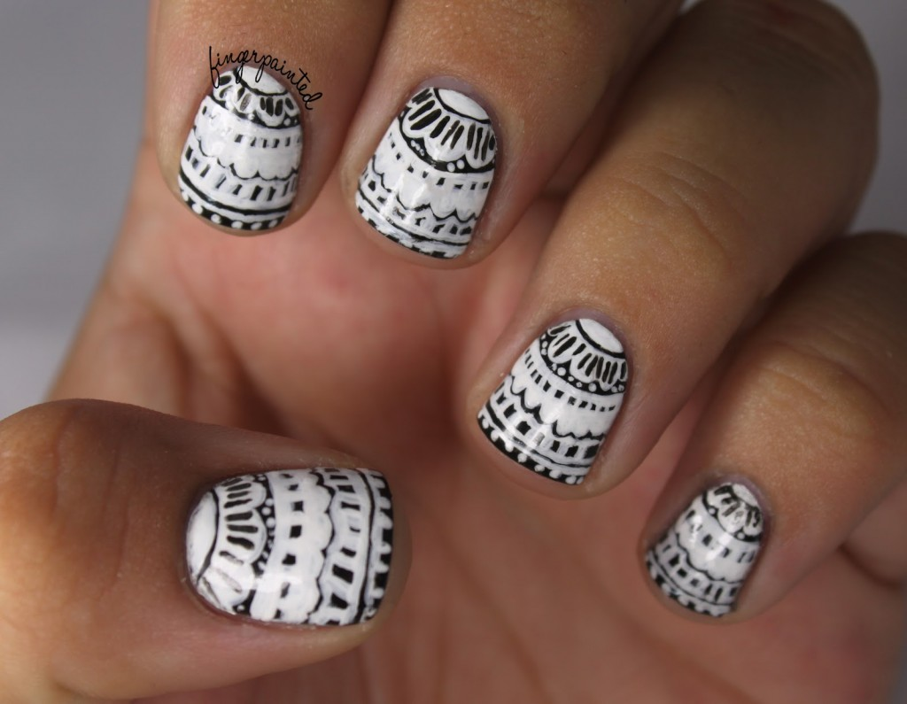 Lace Nail Art Designs - Fashion Diva Design