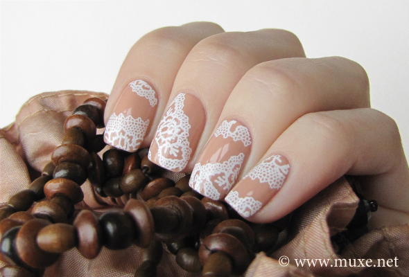 Lace Nail Art Designs