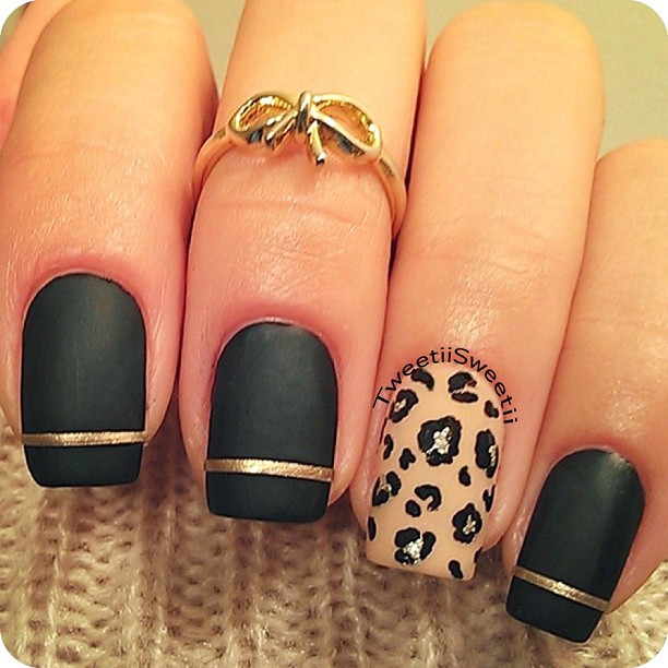nails with gold (3)