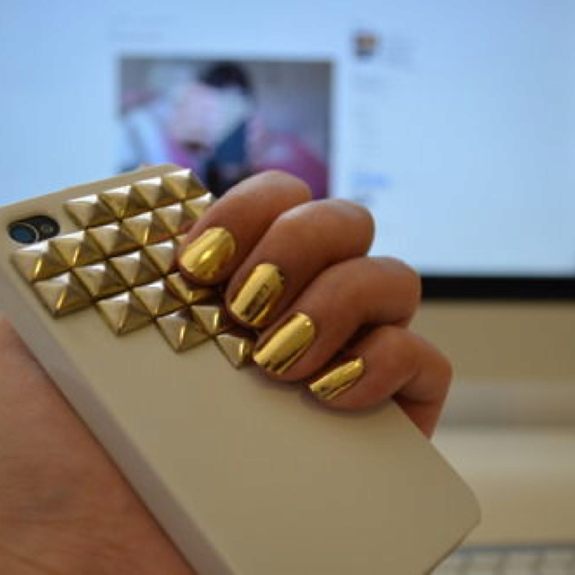 nails with gold (4)