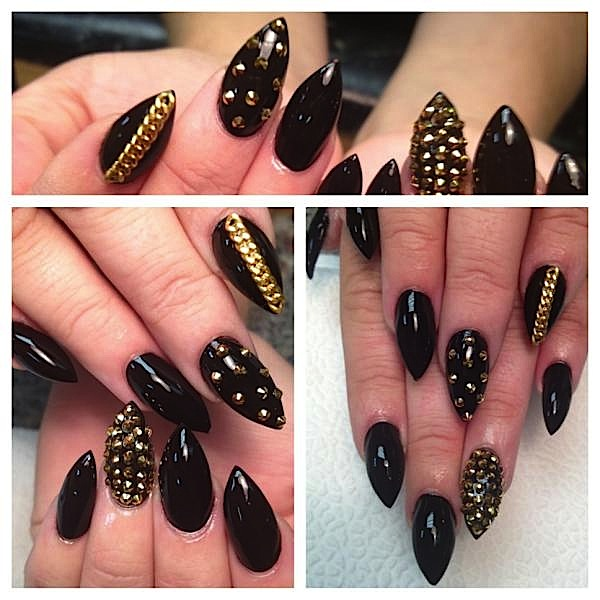 nails with gold (6)