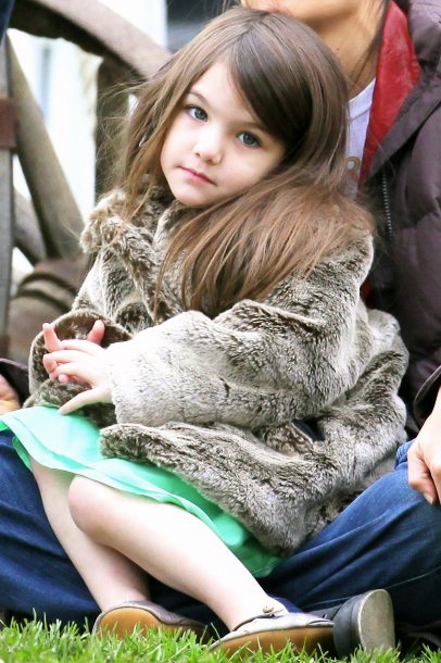 Young Fashionista Suri Cruise