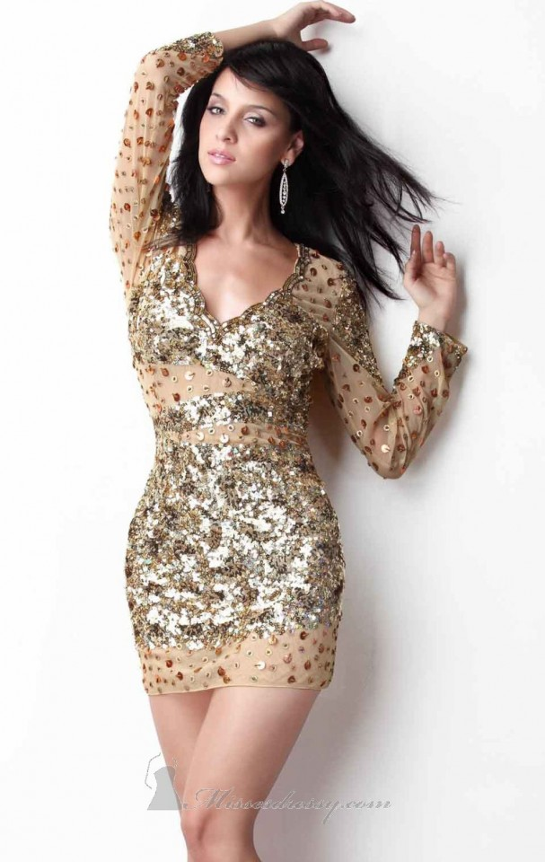 AMAZING EVENING SEQUIN DRESSES (15)