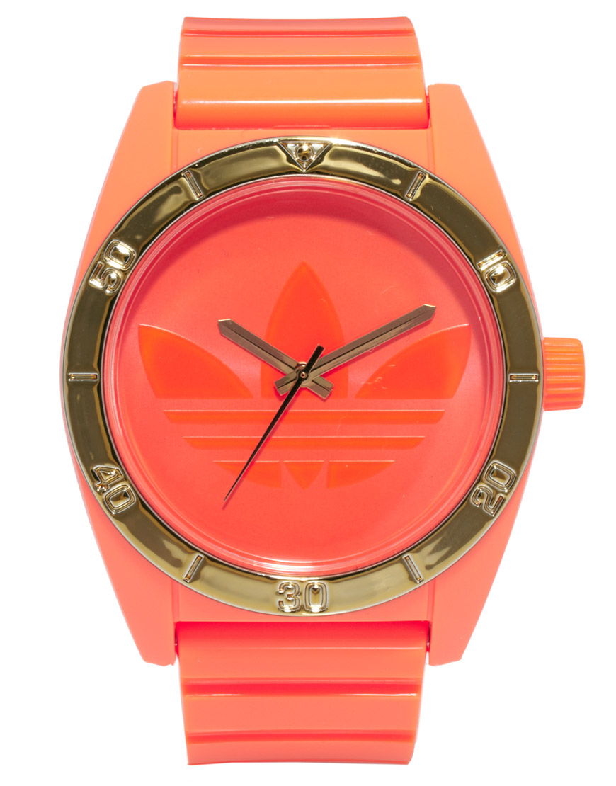 Adidas Santiago Orange Neon Watch