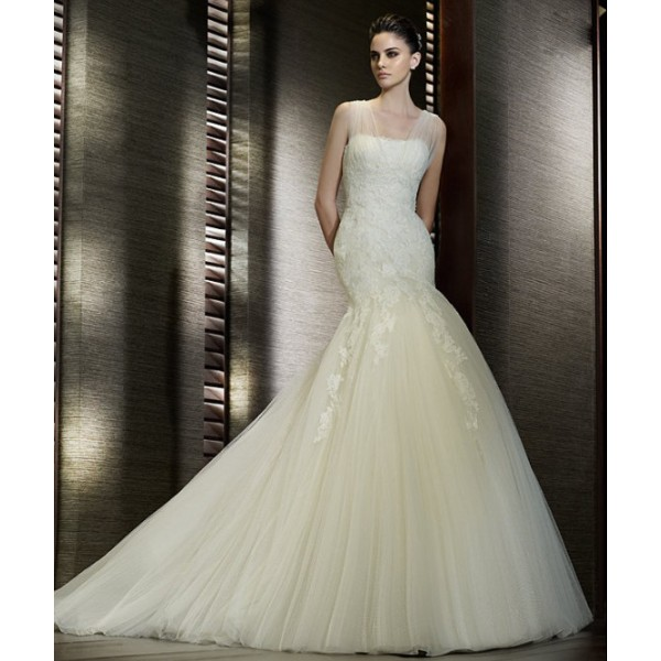 Amazing Mermaid Wedding Dresses 2013 (13)