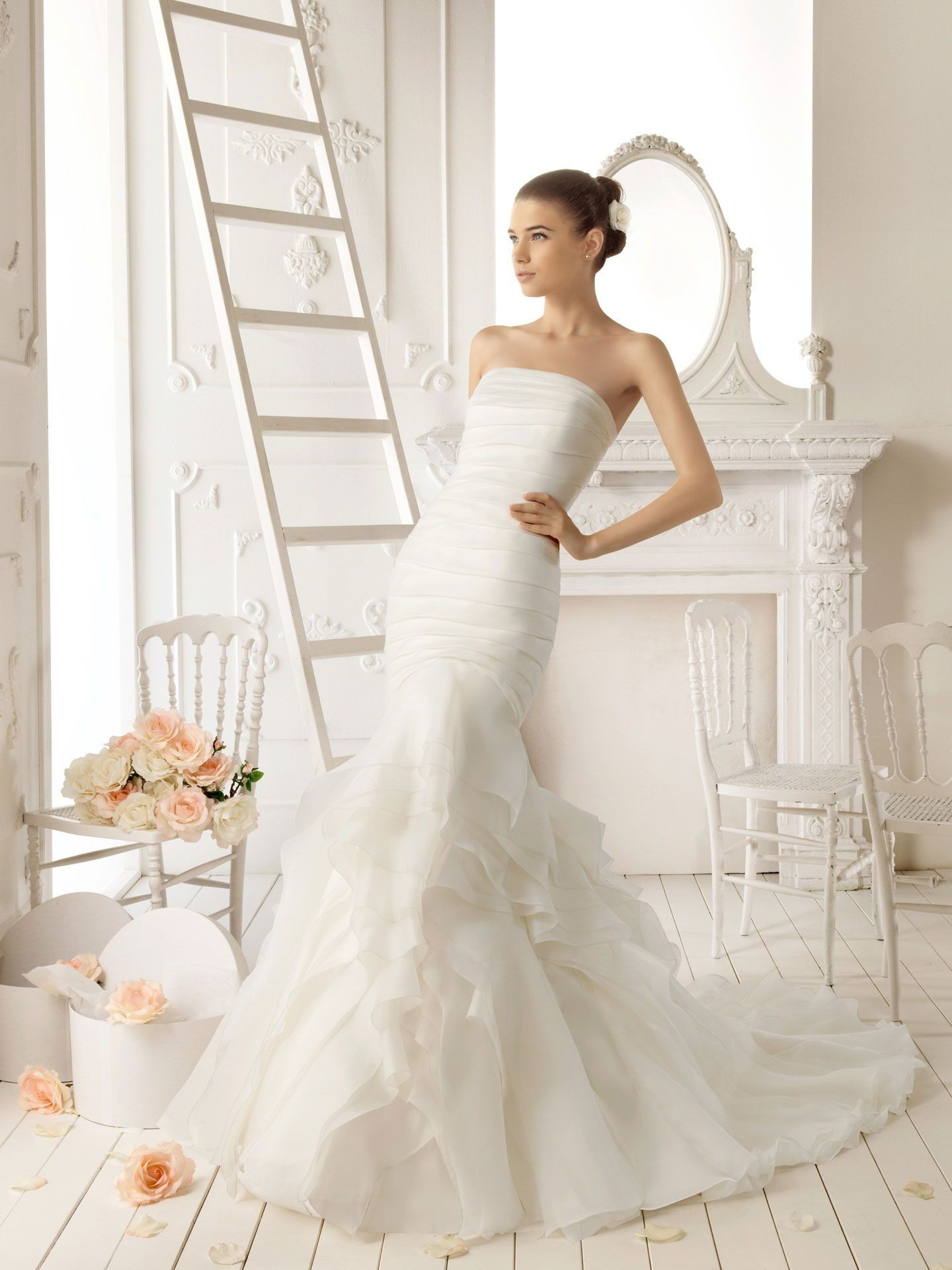 Amazing Mermaid Wedding Dresses 2013 (14)