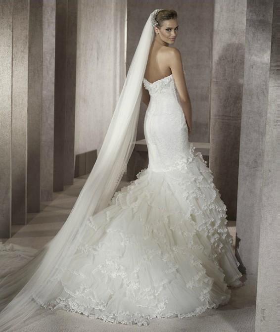 Amazing Mermaid Wedding Dresses 2013 (16)
