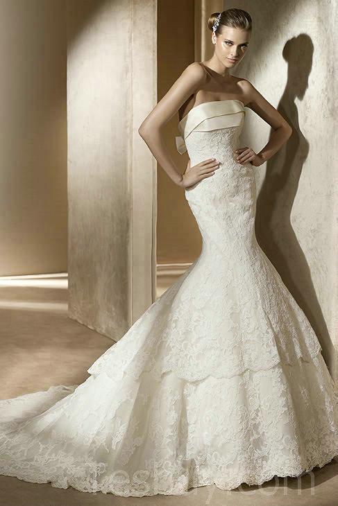 Amazing Mermaid Wedding Dresses 2013 (19)