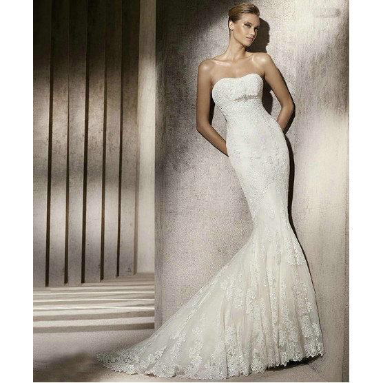 Amazing Mermaid Wedding Dresses 2013 (2)