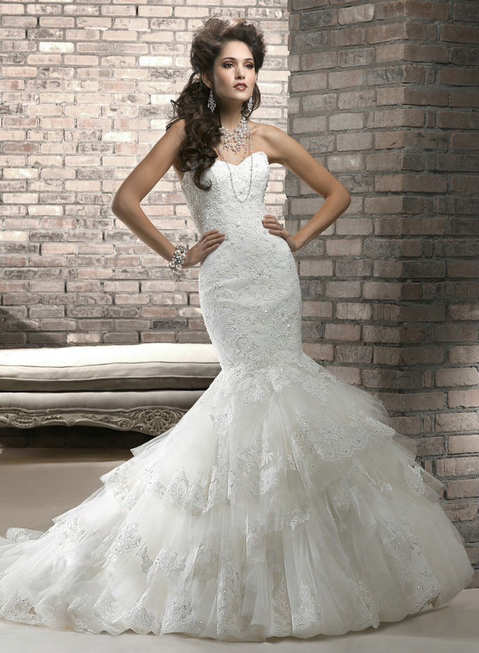 Amazing Mermaid Wedding Dresses 2013 (20)