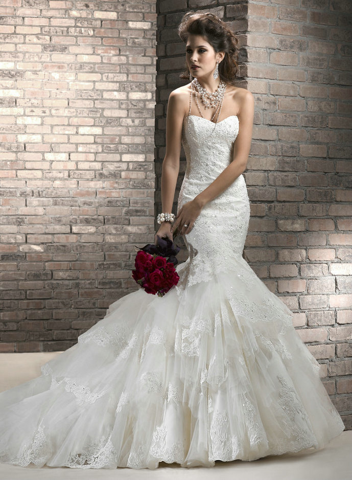 Amazing Mermaid Wedding Dresses 2013 (21)