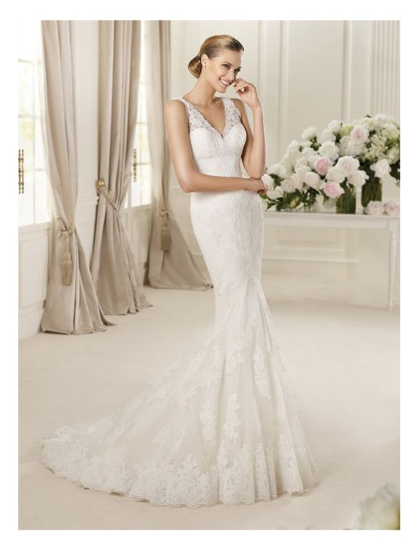 Amazing Mermaid Wedding Dresses 2013 (22)