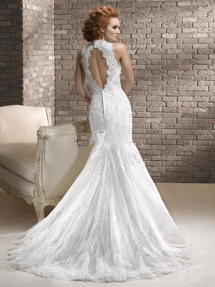 Amazing Mermaid Wedding Dresses 2013 (23)