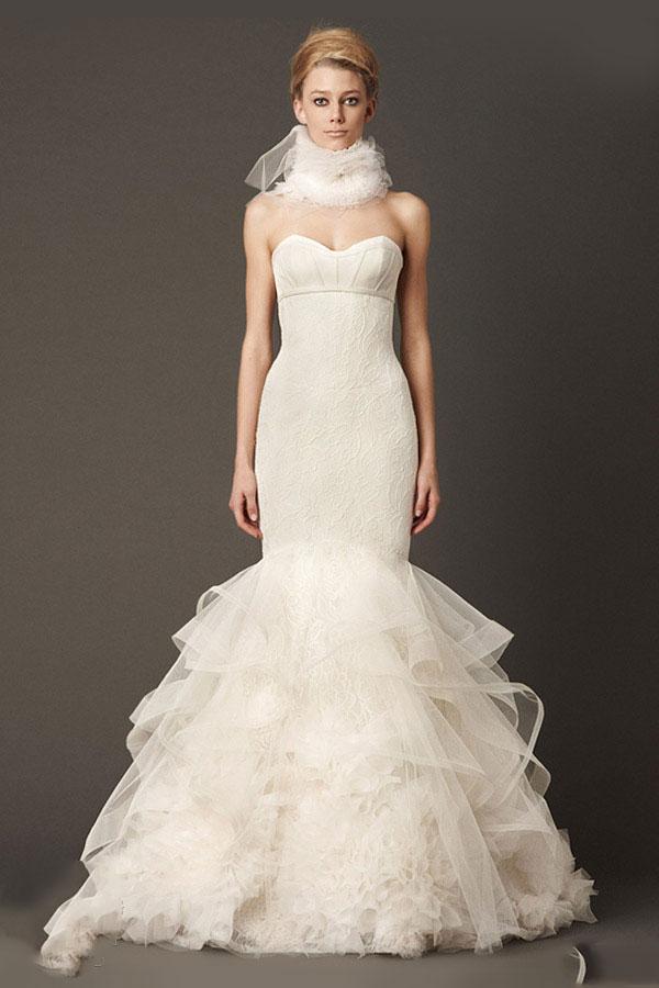 Amazing Mermaid Wedding Dresses 2013 (24)