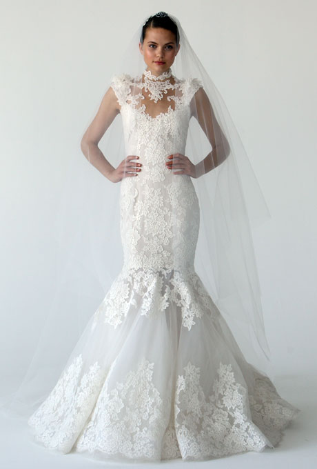 Amazing Mermaid Wedding Dresses 2013 (25)