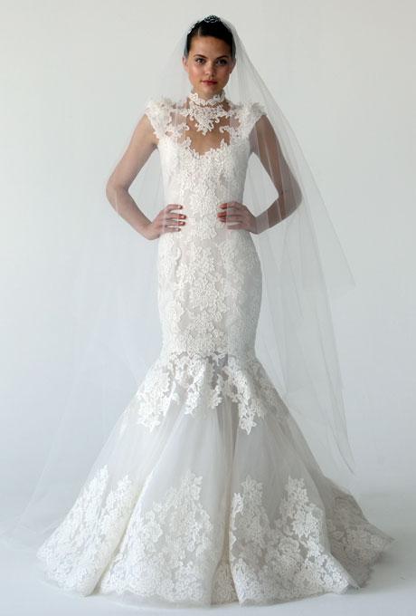 Amazing Mermaid Wedding Dresses 2013 (25)