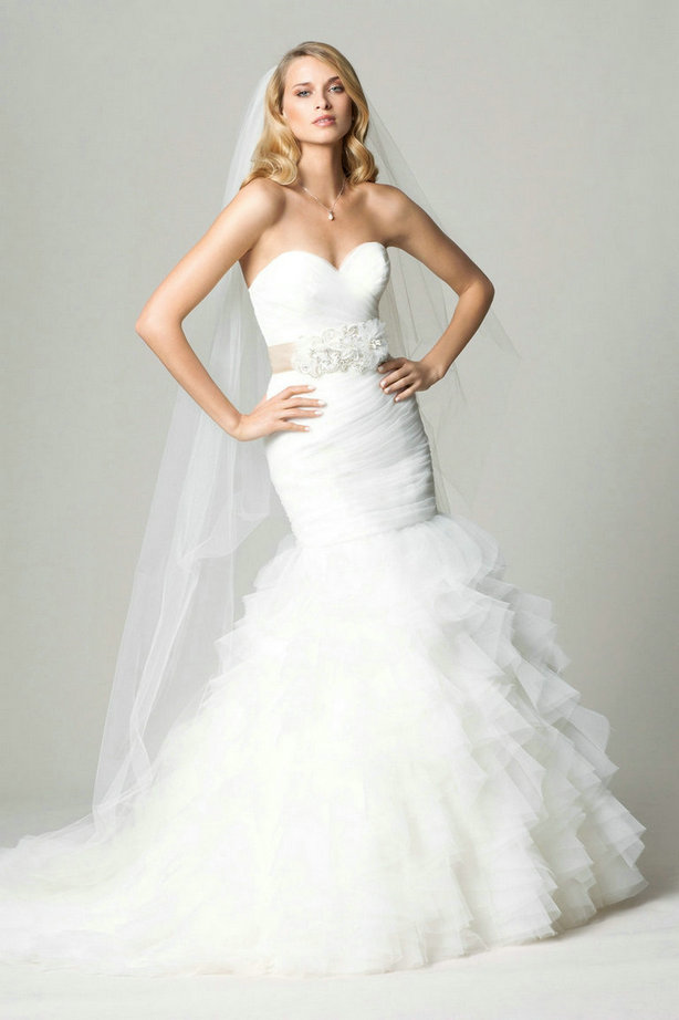 Amazing Mermaid Wedding Dresses 2013 (27)