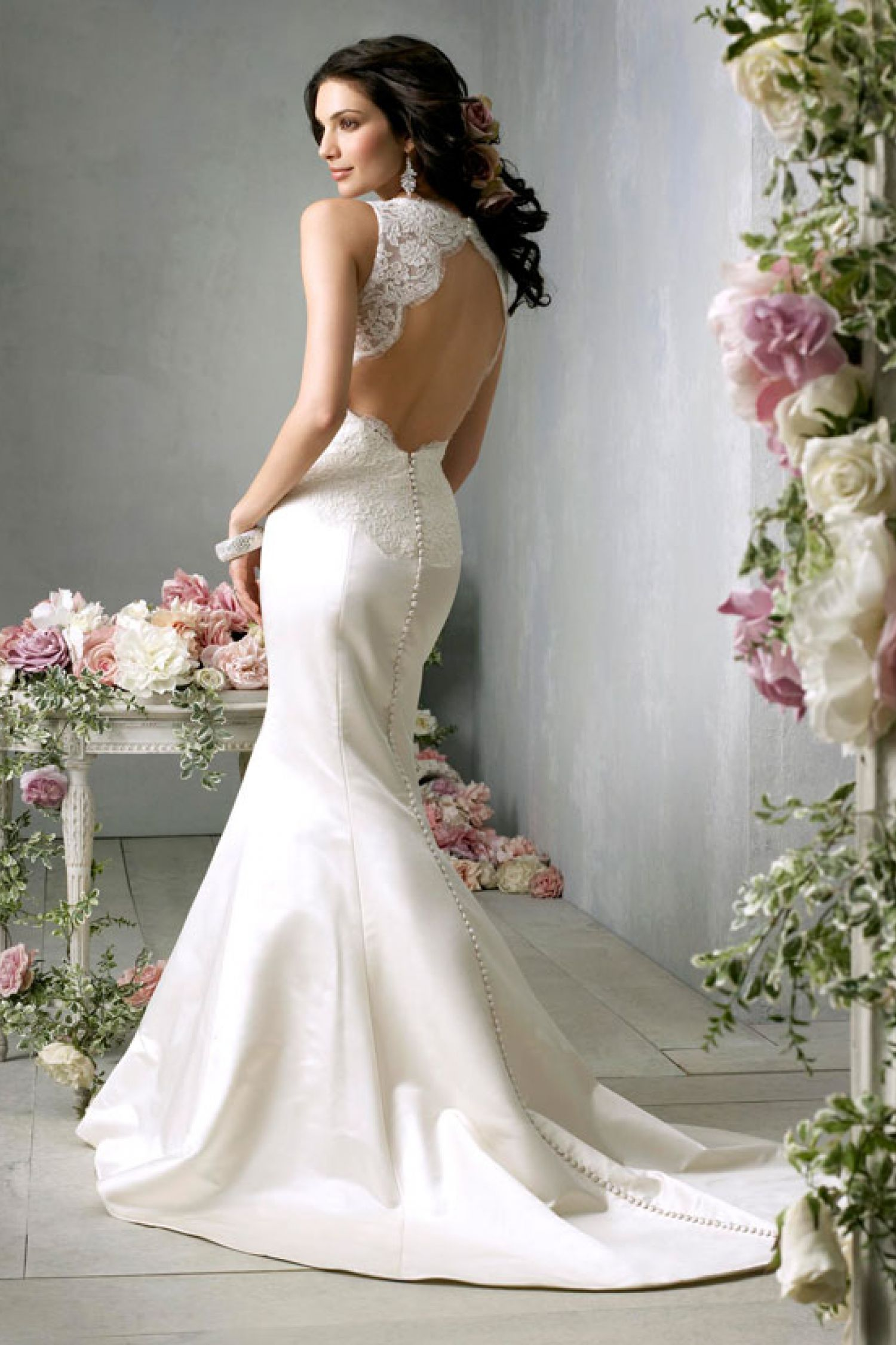 Amazing Mermaid Wedding Dresses 2013 (28)