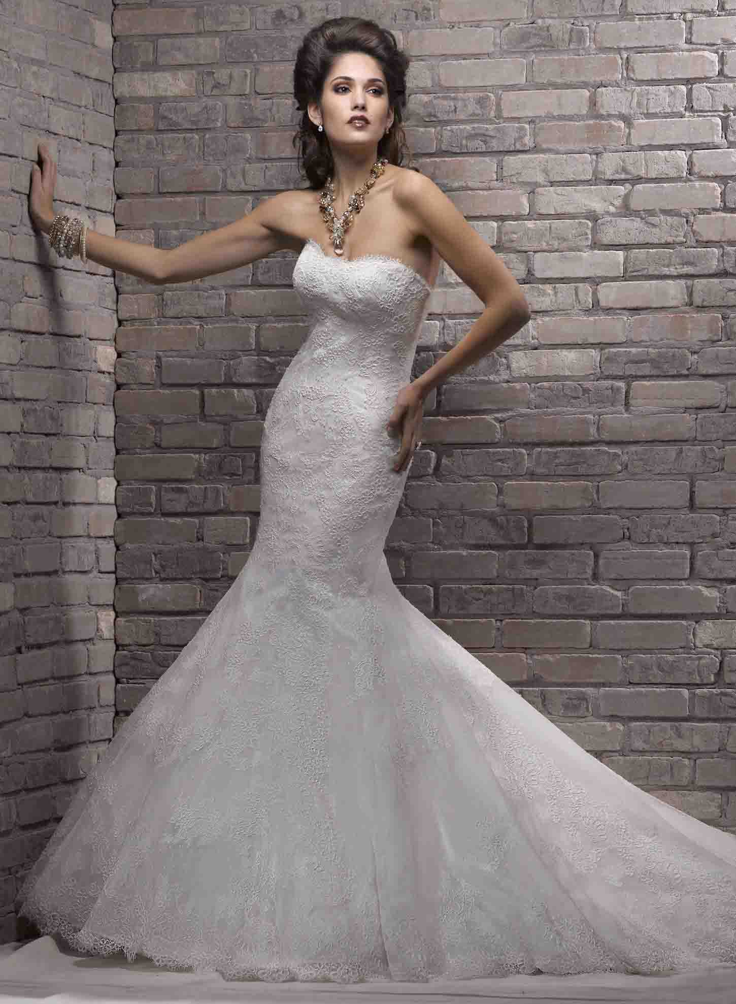 Amazing Mermaid Wedding Dresses 2013 (29)