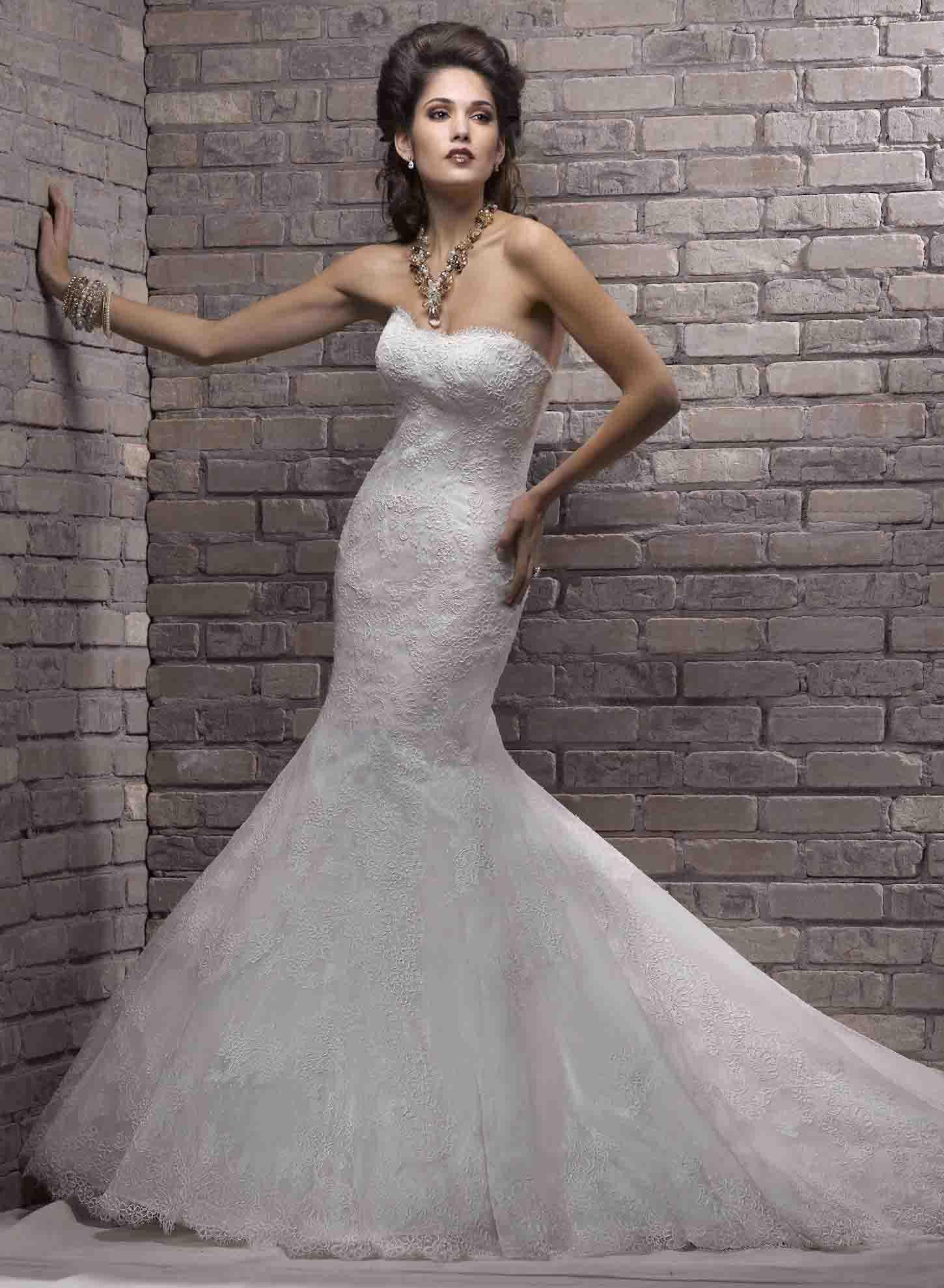 Amazing Mermaid Wedding Dresses 2013 (29)