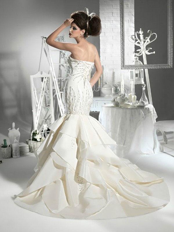 Amazing Mermaid Wedding Dresses 2013 (30)